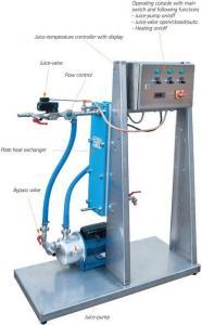 Pasteurizer with plate heat exchanger