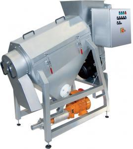 Destoner KEP1500 with attached screw pump