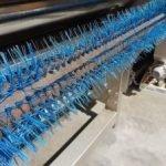 sparse bristles on kreuzmayr belt brush