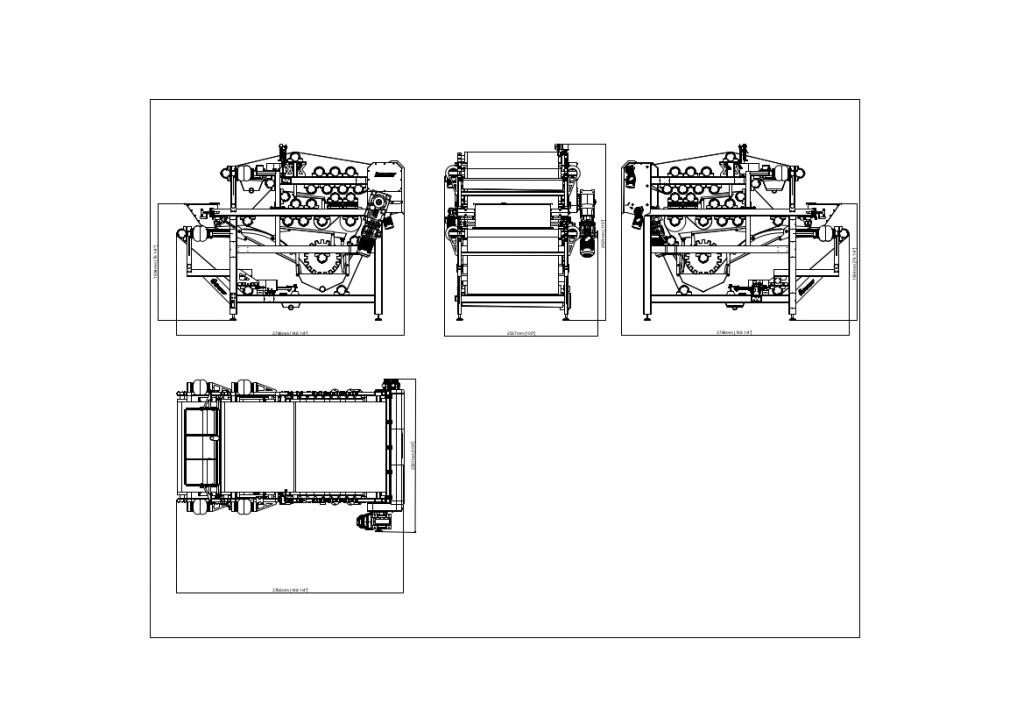 K2B1500 Double Belt Press