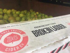 BC Tree Fruit Broken Ladder