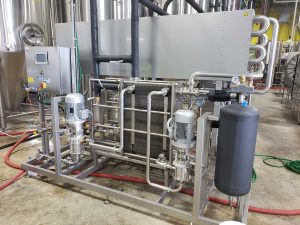 carbonated HTST Pasteurizer at Veza Sur