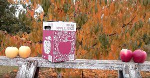 boxed apple juice