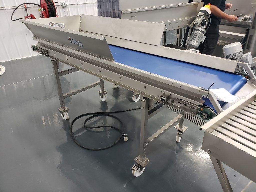 Kreuzmayr Industrial Fruit Processing Sorting Conveyor